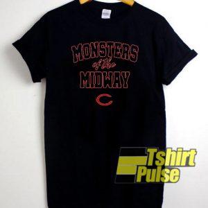 Chicago Bears Monsters t-shirt for men and women tshirt