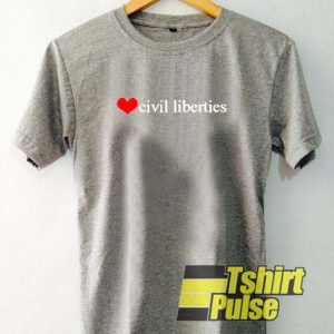 Civil Liberties t-shirt for men and women tshirt