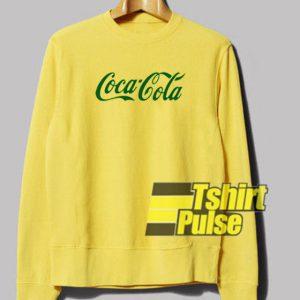Coca Cola Green Logo sweatshirt