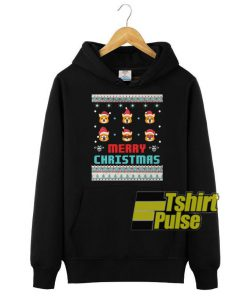 Corgi Christmas hooded sweatshirt clothing unisex