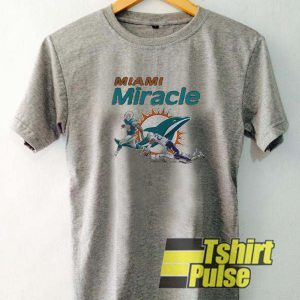 Dolphins Miami Miracle t-shirt for men and women tshirt