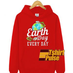 Earth Day Every Day hooded sweatshirt clothing unisex hoodie