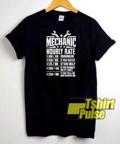 Funny Mechanic t-shirt for men and women tshirt