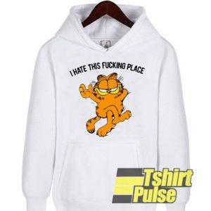 Garfield hooded sweatshirt clothing unisex hoodie