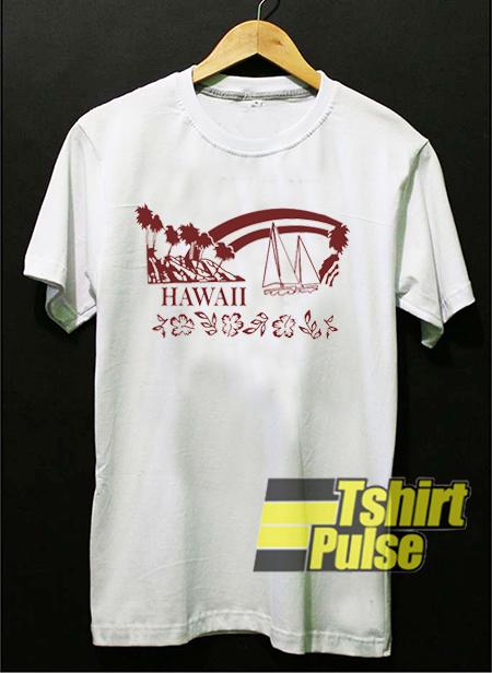 Hawaii t-shirt for men and women tshirt