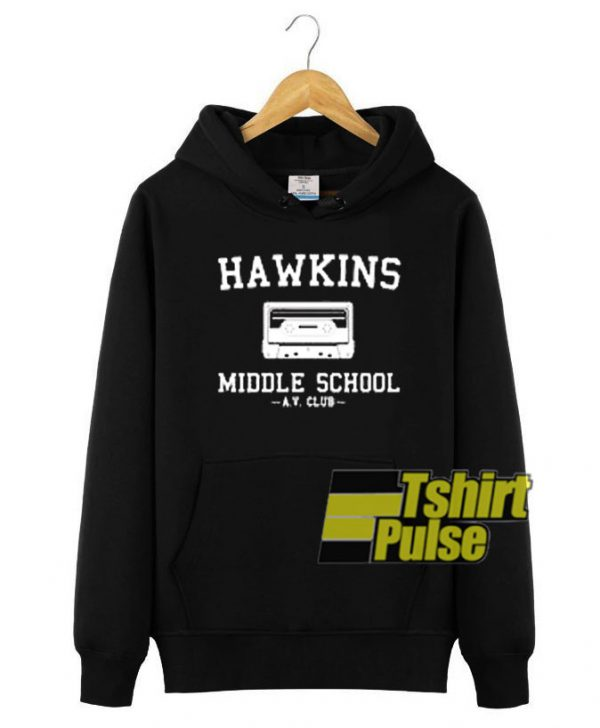 Hawkins High School hooded sweatshirt clothing unisex hoodie