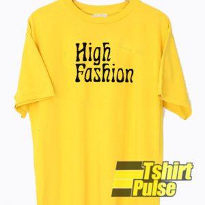 High Fashion t-shirt for men and women tshirt