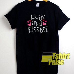 Hugs and Kisses t-shirt for men and women tshirt