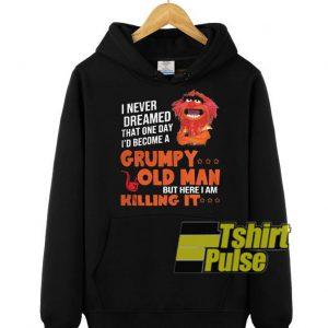I never dream hooded sweatshirt clothing unisex hoodie