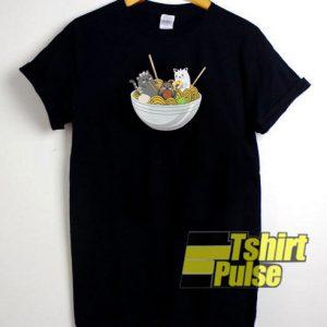 Japanese Ramen Soup t-shirt for men and women tshirt