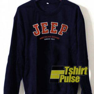 Jeep sweatshirt