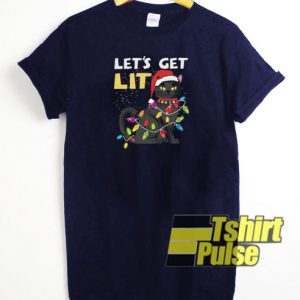 Let's Get Lit t-shirt for men and women tshirt