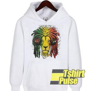 Lion Rasta Headphones hooded sweatshirt clothing unisex hoodie