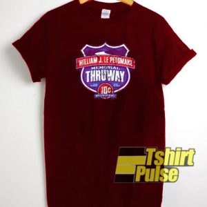 MEMORIAL THRUWAY t-shirt for men and women tshirt