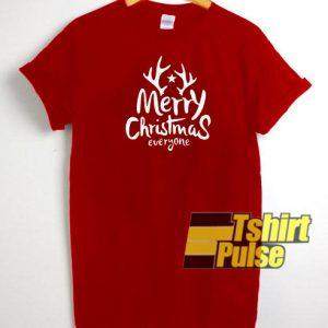 Merry Christmas Everyone t-shirt for men and women tshirt