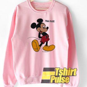 Mickey Mouse Ithaca College sweatshirt