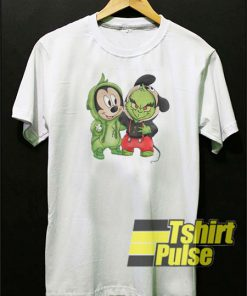 Mickey Mouse and Grinch t-shirt for men and women tshirt