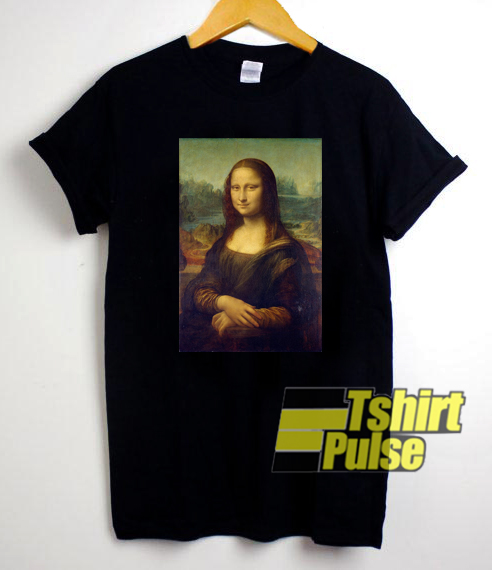 Mona Lisa t-shirt for men and women tshirt