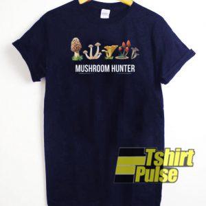 Mushroom Hunter t-shirt for men and women tshirt