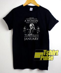 Never underestimate t-shirt for men and women tshirt