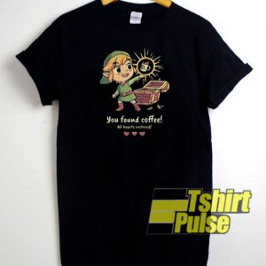 Official You found coffee t-shirt for men and women tshirt