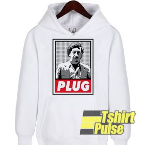 Pablo Escobar Plug hooded sweatshirt clothing unisex hoodie