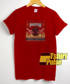 Pantera fucking christmas t-shirt for men and women tshirt
