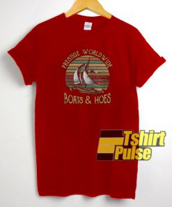 Prestige Worldwide Boats t-shirt for men and women tshirt