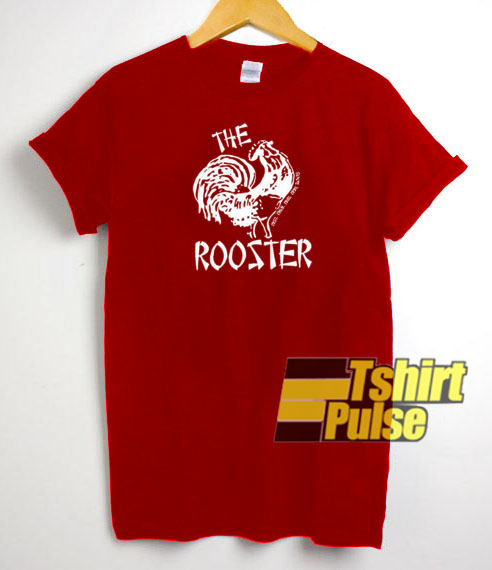 Rooster t-shirt for men and women tshirt