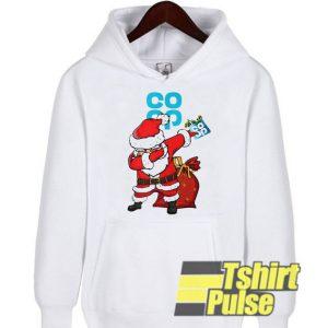 Santa Claus Dabbing hooded sweatshirt clothing unisex hoodie