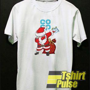 Santa Claus Dabbing Christmas Co Op t-shirt for men and women tshirt
