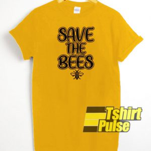 Save The Bees t-shirt for men and women tshirt