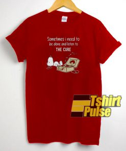 Snoopy Sometimes t-shirt for men and women tshirt