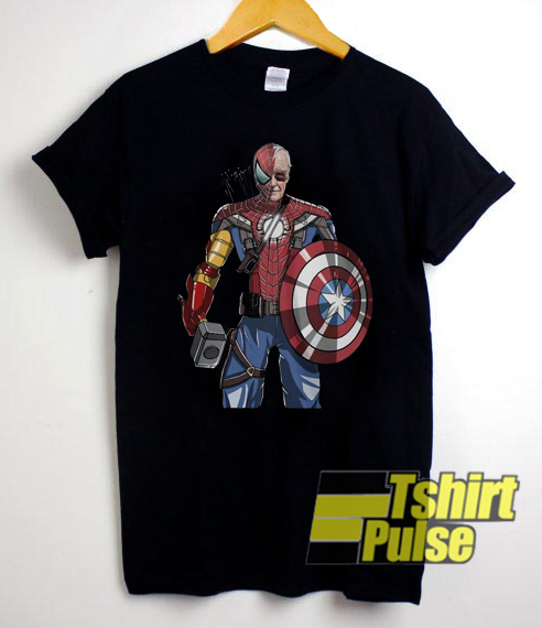 Marvel Captain America Boys T-Shirt Top Size 5-6 or 7  NWT