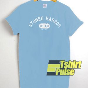 Stoned Harbor t-shirt for men and women tshirt
