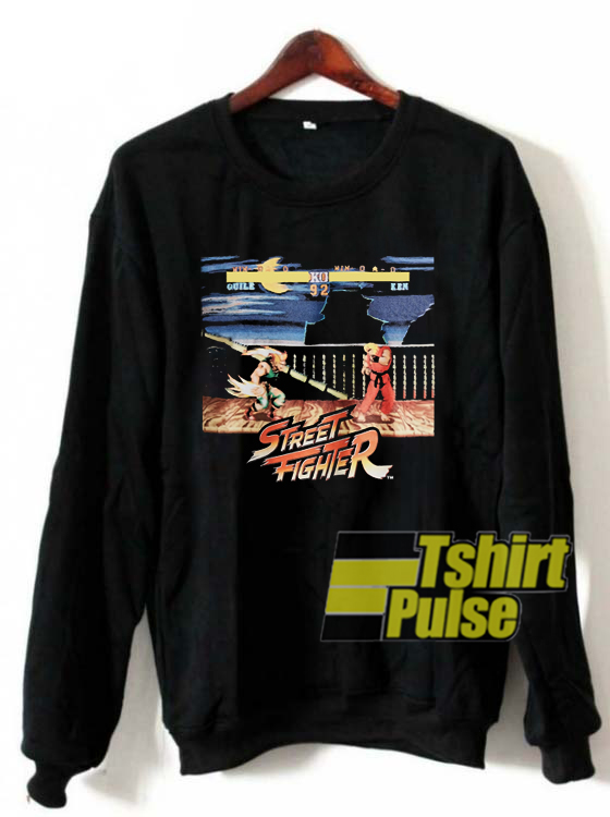 Street Fighter Guile vs Ken sweatshirt