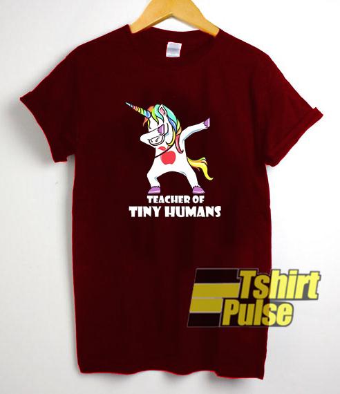 Teacher Of Tiny Humans t-shirt for men and women tshirt