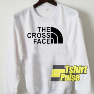 The Cross Face sweatshirt