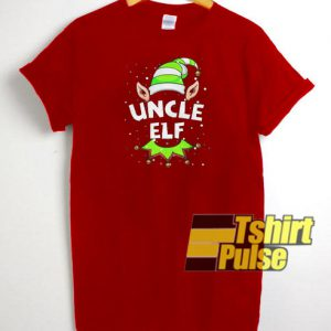 Uncle Elf Christmas t-shirt for men and women tshirt