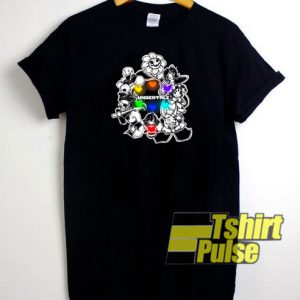 Undertale characters t-shirt for men and women tshirt