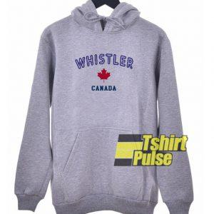 Whistler Canada hooded sweatshirt clothing unisex hoodie