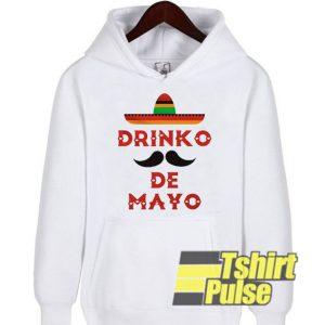 drinko de mayo hooded sweatshirt clothing unisex hoodie
