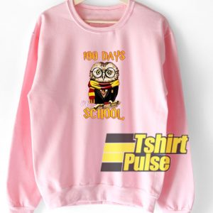 100 Days Owl Of School sweatshirt