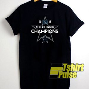 2018 NFC east division Champions t-shirt for men and women tshirt