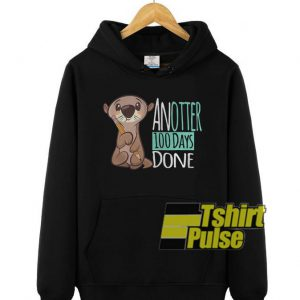 Another 100 days done hooded sweatshirt clothing unisex hoodie