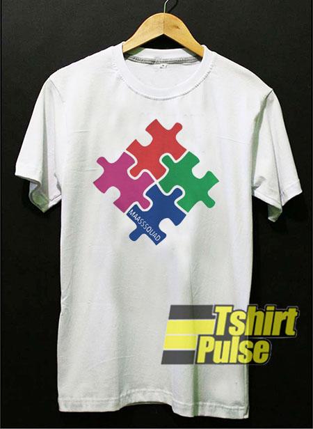 Autism Maasssquad t-shirt for men and women tshir