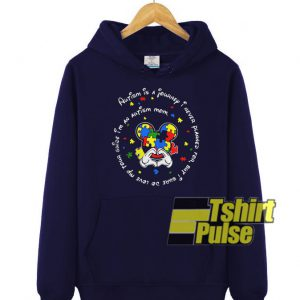 Autism is a journey hooded sweatshirt clothing unisex hoodie