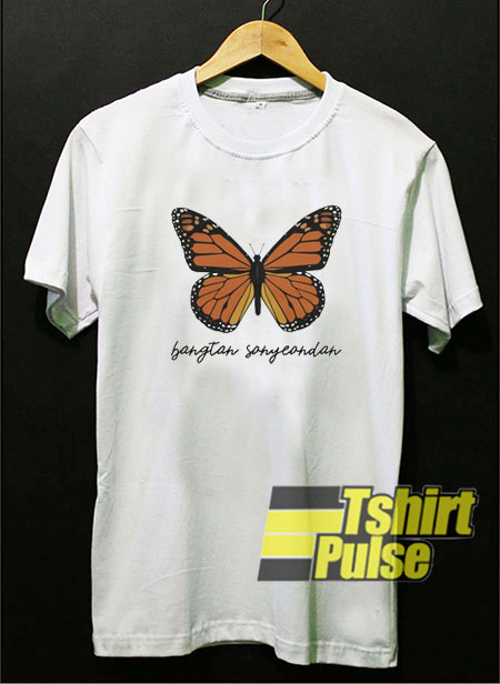 BTS Butterfly t-shirt for men and women tshirt