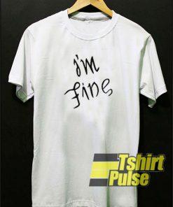 BTS I'm FIne t-shirt for men and women tshirt