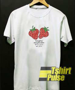 BTS Strawberry t-shirt for men and women tshirt